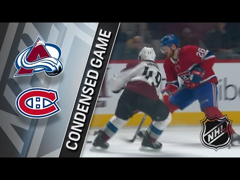 01/23/18 Condensed Game: Avalanche @ Canadiens