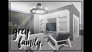 Roblox | Bloxburg: Grey Family Home