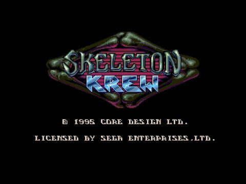 Mega Drive Longplay [303] Skeleton Krew