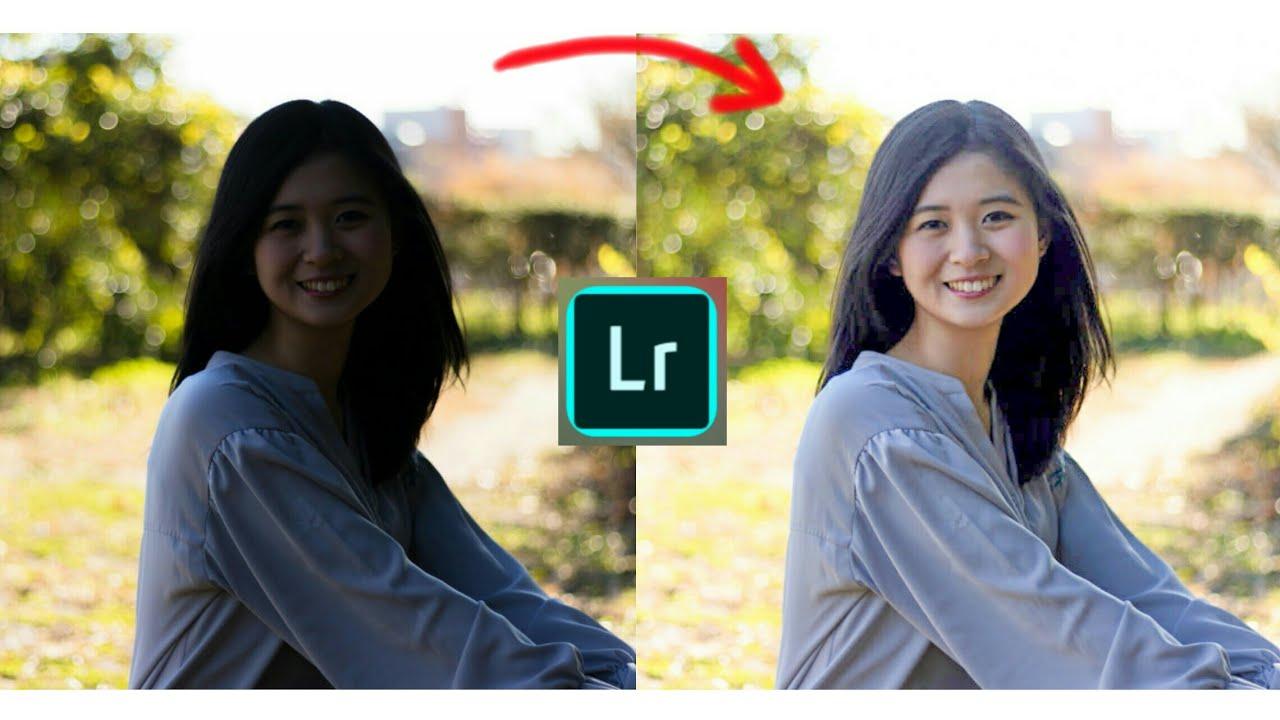 Cách chỉnh ảnh ngược sáng, ngược nắng, chỉnh ảnh thiếu sáng…bằng app Lightroom