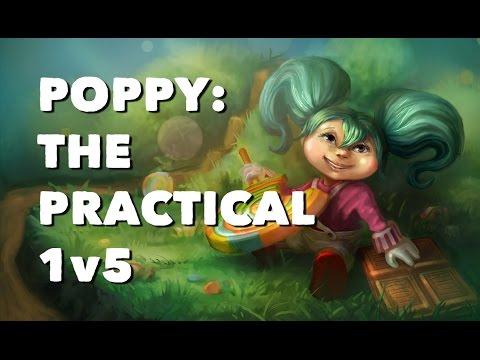 Poppy: The Practical 1v5 | Professor Milk