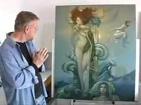 Michael Parkes and the Venus Painting