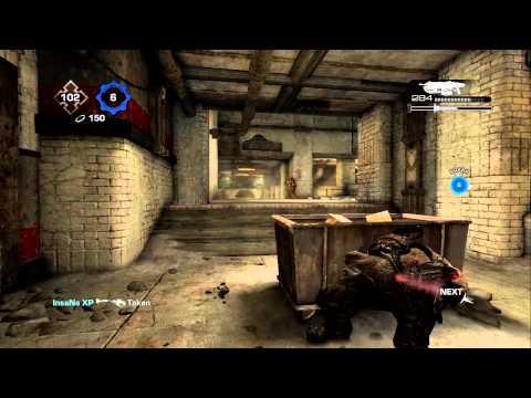Gears of War 3: sTp Doombringer and Pink Vanity KOTH Comeback Vs. Full 5 (Slab)