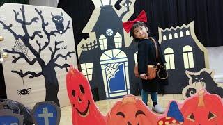 【5歳こなつ☆赤ちゃんはな】HAPPYHALLOWEEN!魔女の宅急便キキ
