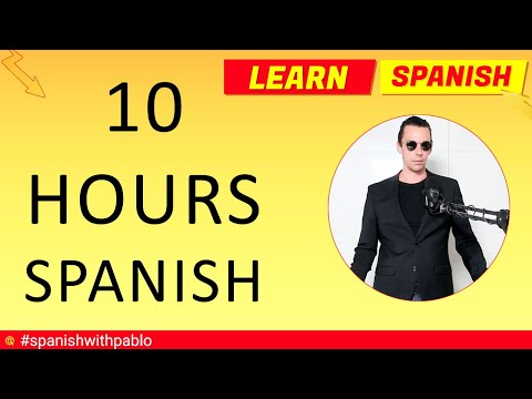 ✔️🕙😊 10 Hours of Spanish Language Tutorials - How to say things in Spanish part 11