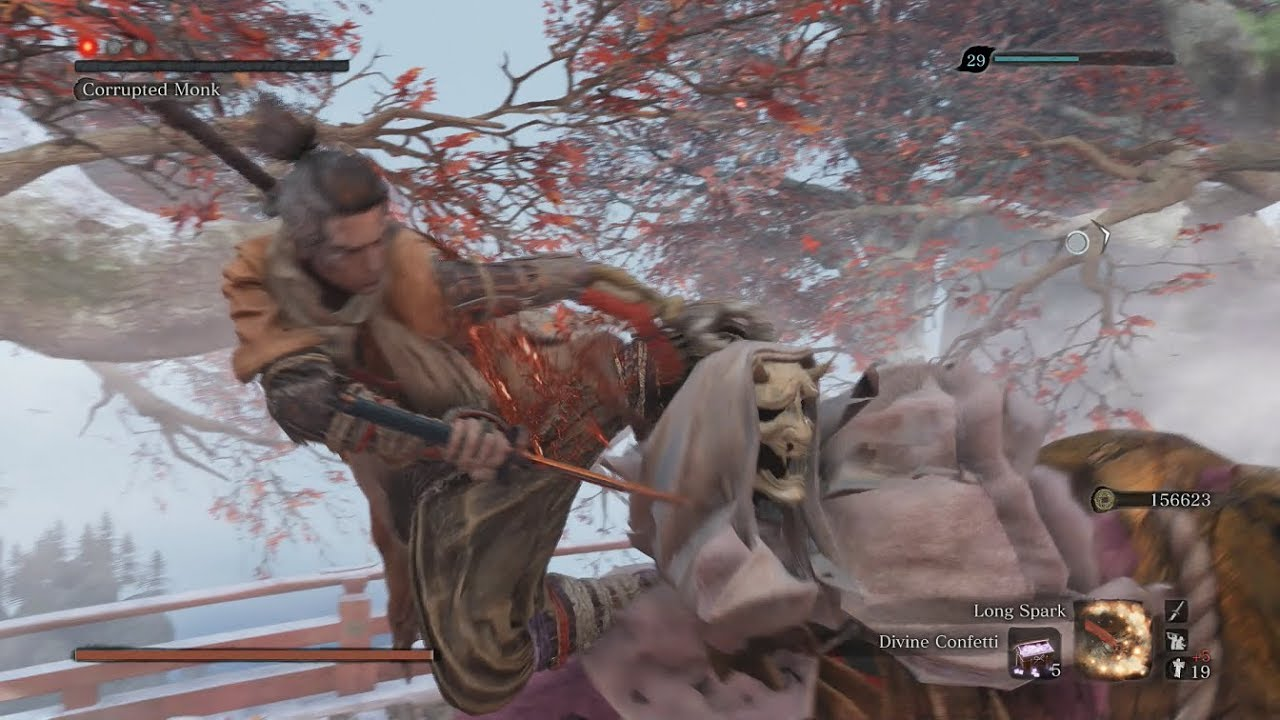 Sekiro: Shadows Die Twice - Corrupted Monk - NO DAMAGE