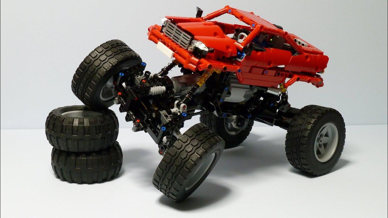 Lego Technic Pf Rock Crawler Youtube