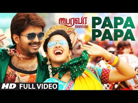 PaPa PaPa Video Song | Bairavaa Video...