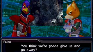 Star Fox: Assault - Mission 5 - The Aparoid Menace - Asteroid Belt
