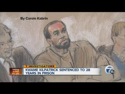 Kwame Kilpatrick sentenced to 28 years in prison