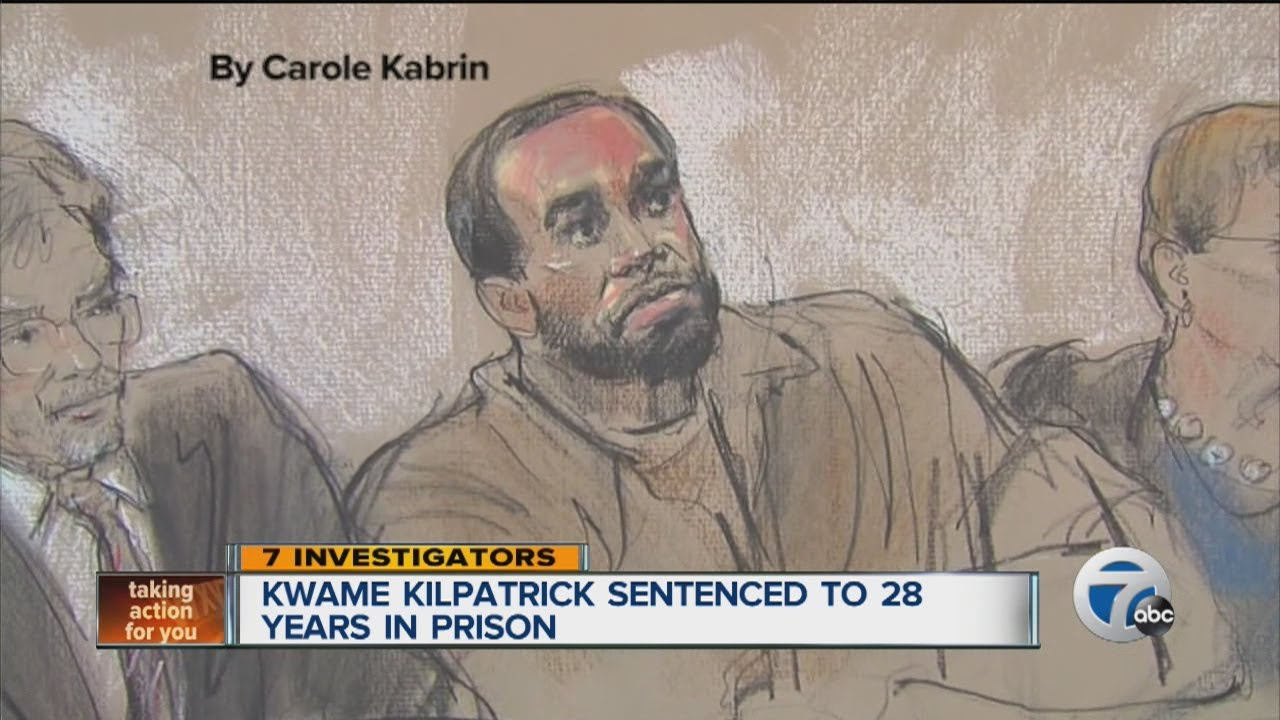 Kwame Kilpatrick Sentenced To 28 Years In Prison Youtube