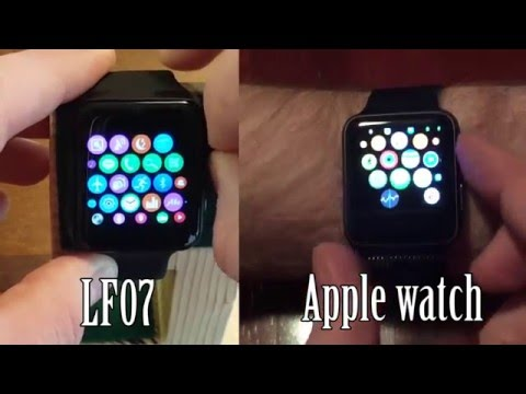 LF07 Smartwatch Review