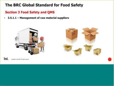 BRC Food Safety Standard Webinar