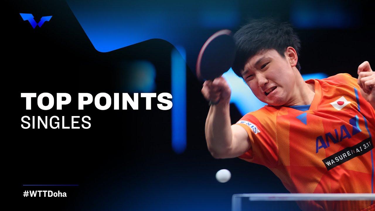 Download FINALS FEVER! BEST TABLE TENNIS RALLIES | WTT Star Contender Doha 2021