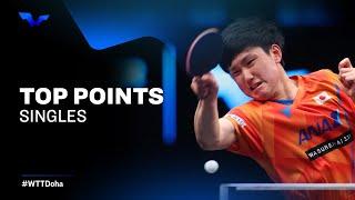 FINALS FEVER! BEST TABLE TENNIS RALLIES | WTT Star Contender Doha 2021