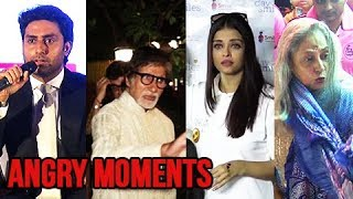 10 Times Bachchan's Got ANGRY On Media | Aishwarya Rai, Jaya Bachchan, Amitabh, Abhishek