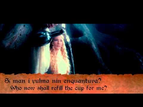 J.R.R. Tolkien reads an Elvish poem Namárië, Galadriel's Lament