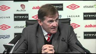 Dalglish rages at press over Andy Carroll after City win