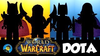 World of Warcraft WoW Massively Multiplayer Online Role-Playing Game Unofficial LEGO Minifigures