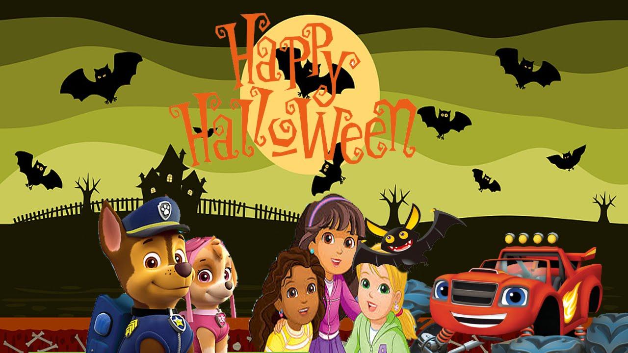 Nick jr halloween games halloween dress up parade animation nick