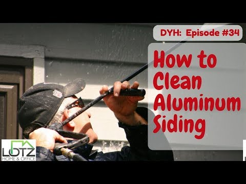 How to Clean Aluminum Siding - Pressure Washing Techniques