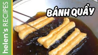 FRIED BREADSTICK Recipe - Banh Quay / Youtiao / Patongko