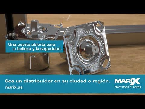 Guía de Instalación de Cierrapuertas Marix para Puertas Pivotantes de Madera, Vidrio y Alumínio.