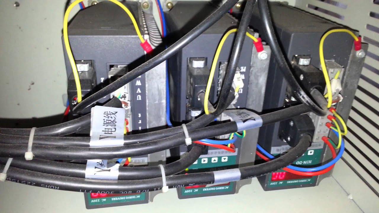 Ac servo motor control by mach 3 youtube for Ac servo motor controller