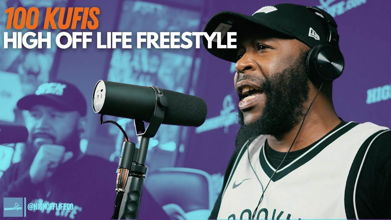 Download 100 KUFIS is the Hungriest Rapper ALIVE!   #HighOffLife Freestyle 074