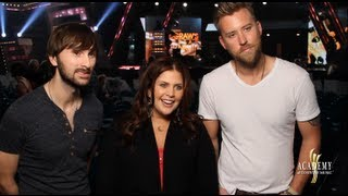 Behind the Scenes at Rehearsals: Lady Antebellum - 2013 ACM Awards