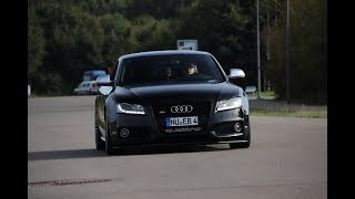 Audi s5 4.2 V8 w/Akrapovic, Loud Sound, Acceleration, Rev´s