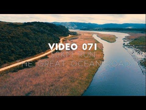 Video 071 - 50 KM Run The Great Ocean Road