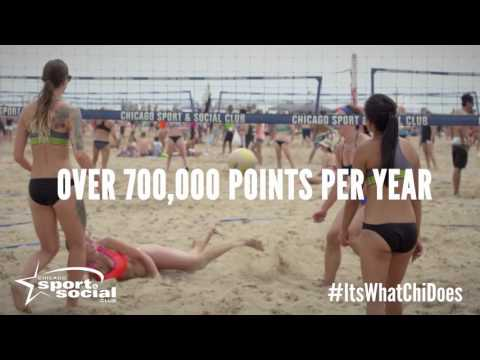 Chicago Sport and Social Club Beach Volleyball Leagues