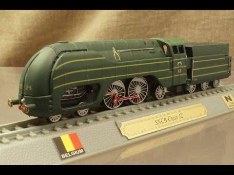 模型 ベルギー国鉄 12型 蒸気機...