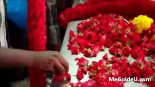 Flower Arranging at High Speed - Little India, Singapore