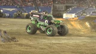 Grave Digger Driver Adam Anderson's Freestyle from Nashville 2017