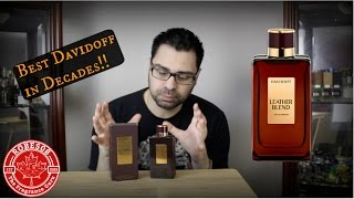Leather Blend by Davidoff Fragrance Review (2014)