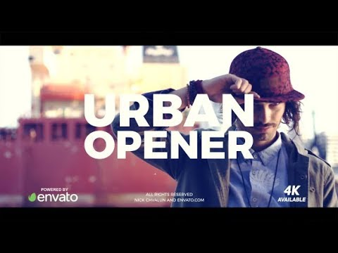 Urban Opener - After Effects template - 동영상