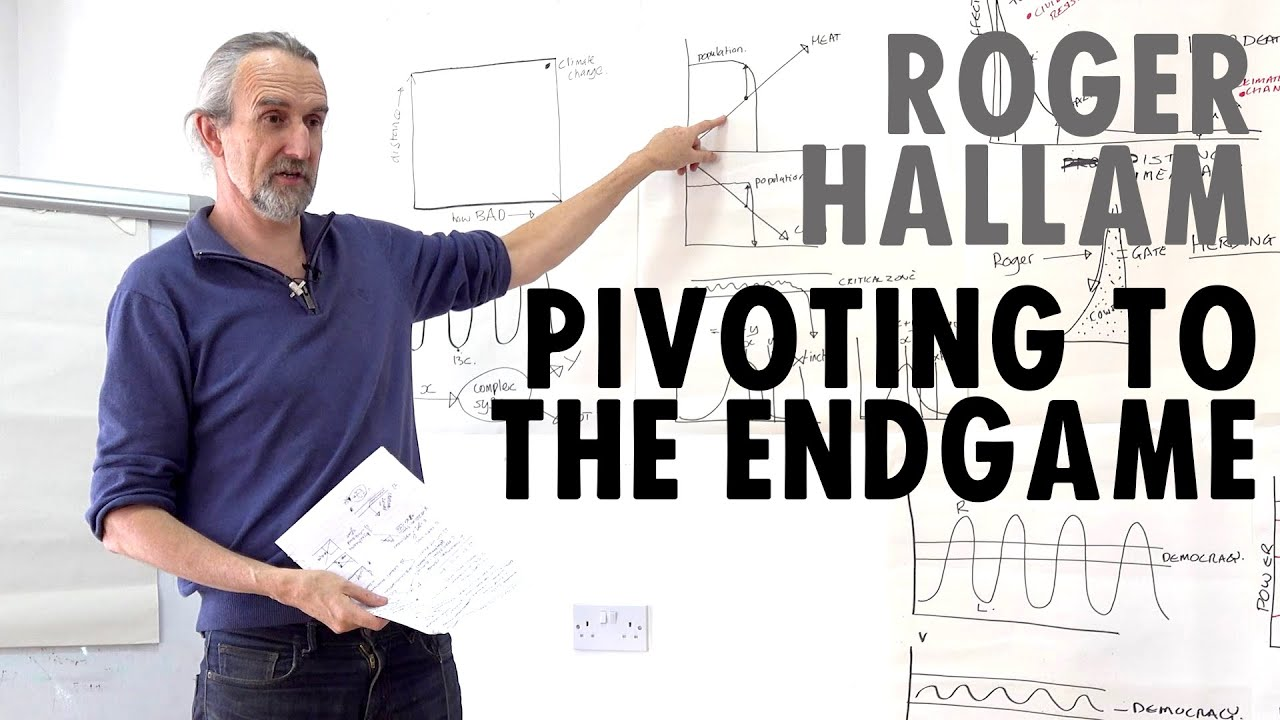 Pivoting to the Endgame | Roger Hallam | Extinction Rebellion