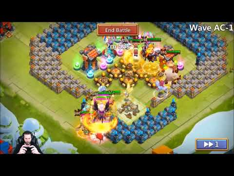 JT's Free 2 Play HBM AC Trying Too Smash It First TRY Castle Clash
