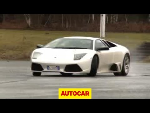 Will it Drift? Lamborghini Murcielago LP640 - autocar.co.uk