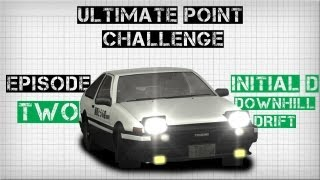 Forza Horizon | ULTIMATE POINT CHALLENGE | #2 | INITIAL D DOWNHILL DRIFT