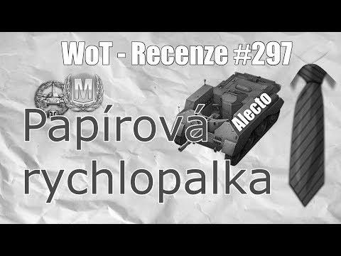 Replay #297 Alecto - Papírová Rychlopalka (SuperKravaťák Ve WoT)