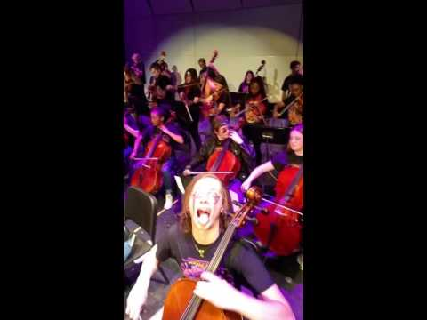 """Carry On"" - Electrify Your Strings - Mark Wood w/ Ferndale Schools Orchestra"