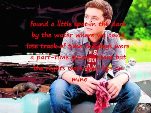 scotty mccreery before midnight with lyrics