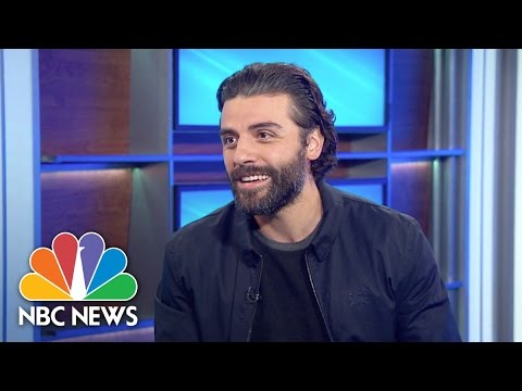 Star Wars' Oscar Isaac Talks Guatemalan Roots | NBC News