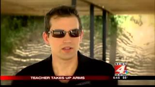 WOAI Concealed Carry on Campus Alamo Defense, Chris Stockton