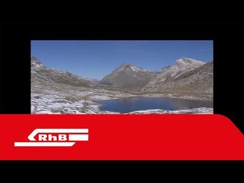 Rhätische Bahn – Bernina-Express-Luftaufnahmen