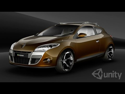 Quality Unity graphics : Interactive Online car 3d configurator