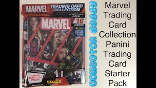 Marvel Trading Card Collection Panini trading card game starter pack